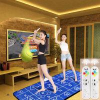 高清加厚瑜伽跳舞毯双人电视电脑两用手舞足蹈体感游戏跳舞机