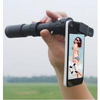 全金属1000倍夜视非红外手机摄影时尚户外装备10-180无极变倍单筒望远镜