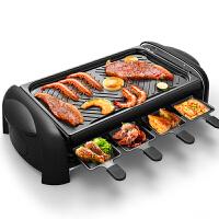【当当自营】利仁(Liven)KL-J4300 家用烧烤炉 无烟韩式电烤盘 不粘烤肉锅