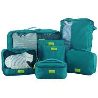 旅行用品收纳袋7件套 洗漱包行李衣物袋数码包鞋袋套装