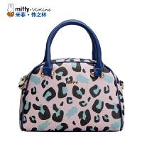 Miffy米菲 2016新款豹纹女士印花手提包女包时尚单肩包 潮女小包斜挎包