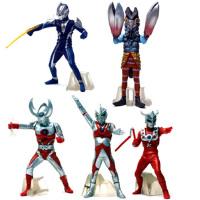 动漫模型 咸蛋超人怪兽超人奥特曼手办公仔摆件5件套