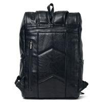 韩版百搭时尚包休闲包便携电脑包背包男士双肩包 时尚潮包书包