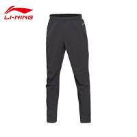 李宁男子夏季跑步系列速干平口运动长裤运动服AYKL035