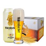 [当当自营] 德国进口 瓦伦丁 Wurenbacher 小麦啤酒 (500ml听装)
