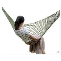 户外装备野营室内休闲秋千 单人双人加厚帆布吊床