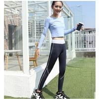 瑜伽训练跑步压缩健身裤女 韩国同款高弹力速干紧身运动长裤