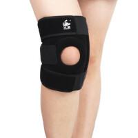 金属四弹簧护膝运动篮球护具专业户外登山跑步网球男女骑行