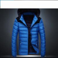 韩版修身加厚棉服新款时尚舒适 学生棉袄男士休闲外套