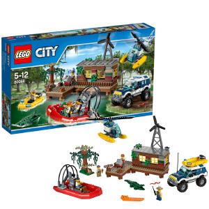 [当当自营]LEGO 乐高 CITY城市系列 小偷藏身处追踪 积木拼插儿童益智玩具 60068
