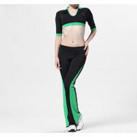 新款健身服装健美操跳操服广场舞女士套装运动休闲套装