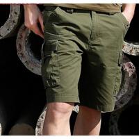 新款男士户外中裤 时尚五分裤战术工装军裤男特种兵军迷男