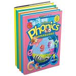 自然拼读法学单词 Children's Phonics(5册套装)小学生必备单词书,可配步步高点读机T2使用(T1、T900-E支持点读功能)