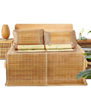 可折叠天然碳化竹席-1.5米床