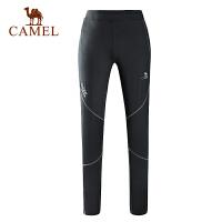 camel骆驼户外情侣款弹力跑步春夏运动透气男女长裤