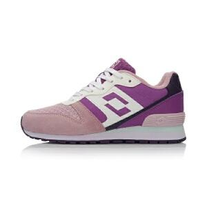 乐途LOTTO女子耐磨复古经典跑步鞋运动鞋ERCL002