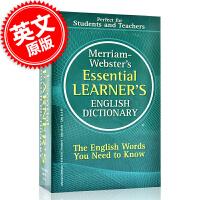 [现货]英文原版 韦氏基本英语学习字典 词典 Merriam-Webster's