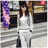大码显瘦 女装 卫衣休闲 欧洲站 新款韩版时尚 卫衣休闲 运动套装 女