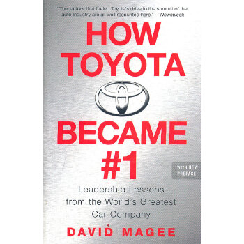 How Toyota Became #1(ISBN=9781591842293)