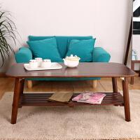 家逸 日式简约实木拼接茶几 茶水柜 客厅沙发桌 炕几功夫茶水桌