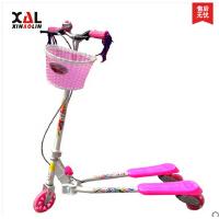 蛙式三轮滑板车 双刹滑板车 儿童 闪光 滑 轮 车 蛙式三轮滑板车 加强铝轮座