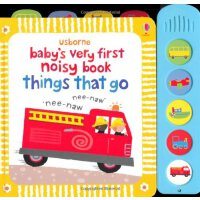 Baby's Very First Noisy Things That Go英文原版儿童书 闹闹有声书:交通工具