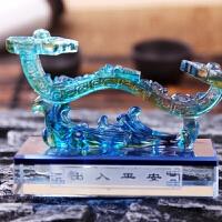 幻海 如意车用香水座  车载摆件用品  车饰琉璃水晶汽车香水创意热卖品