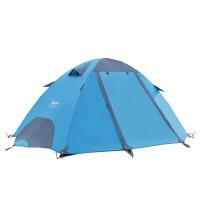 户外防雨野营套装情侣露营帐篷休闲时尚双人双层野外沙滩帐篷