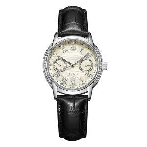 美国品牌全国联保 埃斯普利特(ESPRIT)  皮带星辰系列多功能时装表女士手表ES900742001