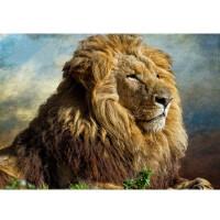 森林之王】动物狮子 木质300/500/1000/1500片拼图进口品质