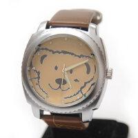 卡通小熊表 儿童表 女表 皮带镶钻女士手表 石英表