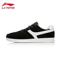 李宁男鞋运动生活系列耐磨复古经典休闲鞋板鞋男子运动鞋ALCK131