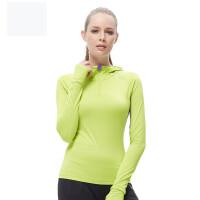 新款女运动健身服 瑜伽服百搭休闲长袖针织T恤上衣
