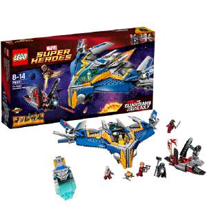 [当当自营]LEGO 乐高 超极英雄系列 米兰飞船救援 积木拼插儿童益智玩具 76021