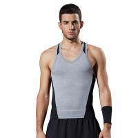 健身背心 男士休闲运动背心 训练健身房工作服 健身教练服