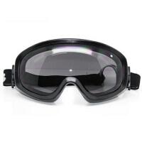 百搭防风镜骑行镜近视大视野抗冲击防护两幅片眼镜摩托车风镜