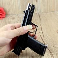 1:2.05沙鹰92式USP模型手枪玩具手枪模型带消音器 军事全金属可拆不可发射