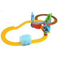 [当当自营]托马斯和朋友 合金火车系列 鲨鱼运输豪华套装 儿童情景轨道玩具 BMF08