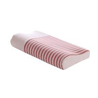 优雅100 彩棉弓形记忆枕 枕头 枕芯 记忆枕  护颈枕 多规格可选