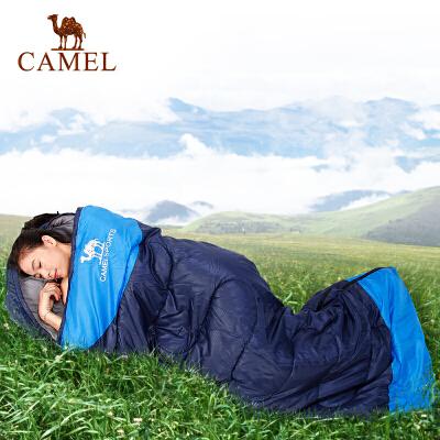 camel骆驼户外睡袋 野营户外加厚成人睡袋 1.35kg保暖睡袋59元起包邮