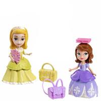 芭比迪士尼小公主苏菲亚之优雅公主套装女孩玩具
