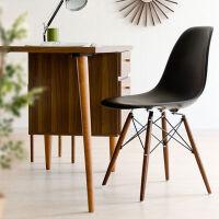 家逸 韩式拆装简易休闲椅人体工学电脑椅 组合款电脑桌椅子 实木办公椅【三色可选】