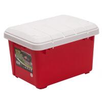 [当当自营]禧天龙Citylong 36L 塑料加厚车载储物箱 抗压后备车用收纳整理箱 大红色6060收纳盒收纳箱