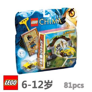 [当当自营]LEGO 乐高 Chima气功传奇 丛林之门 积木拼插儿童益智玩具 70104
