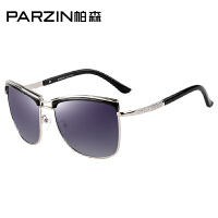 帕森新款时尚偏光太阳镜 女士大框潮墨镜 司机开车驾驶镜9520