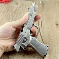 1:2.05中国式92模型手枪模型玩具手枪 全金属拼装可拆卸军事玩具不可发射