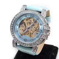 时装表水钻表 时尚女士手表 女表 镂空自动机械表