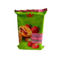 [当当自营] 马来西亚进口 TATAWA 草莓果酱馅曲奇饼干 120g