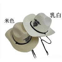 舒适百搭遮阳帽 太阳帽子 男女款时尚出游西部牛仔帽