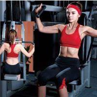 瑜伽服健身服体操服演出服 胸衣中裤女士休闲运动套装